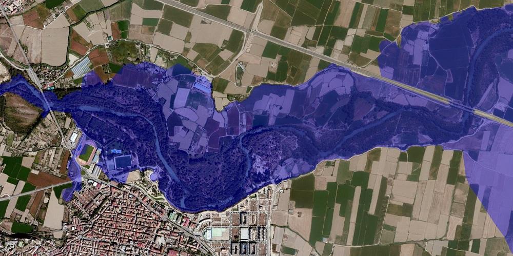1 hecras inundación